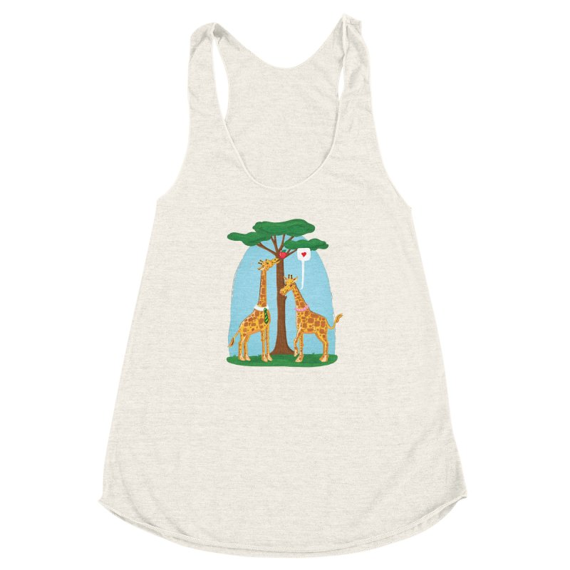 Naturally Selected! Women's Racerback Triblend Tank by John D-C's Artist Shop