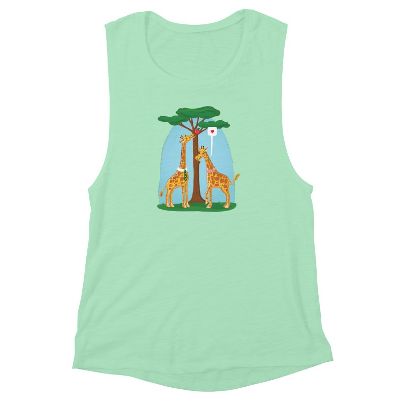 Naturally Selected! Women's Muscle Tank by John D-C