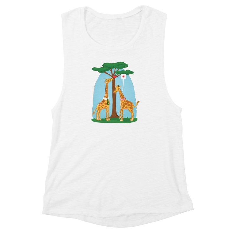 Naturally Selected! Women's Muscle Tank by John D-C's Artist Shop
