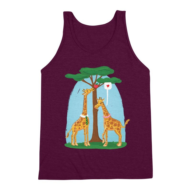 Naturally Selected! Men's Triblend Tank by John D-C