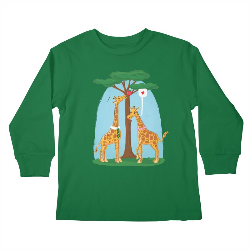 Naturally Selected! Kids Longsleeve T-Shirt by John D-C's Artist Shop