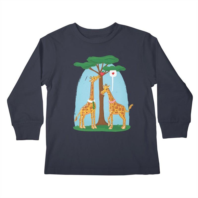 Naturally Selected! Kids Longsleeve T-Shirt by John D-C's Artist Shop