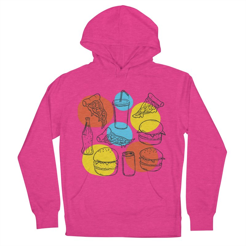 Fast Food Women's French Terry Pullover Hoody by John D-C