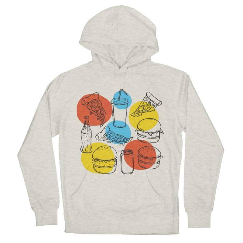 Fast Food Men's Pullover Hoody by John D-C's Artist Shop