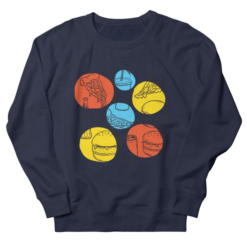 Fast Food Women's Sweatshirt by John D-C's Artist Shop