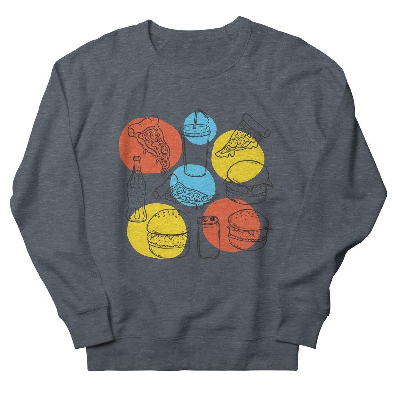 Fast Food Men's French Terry Sweatshirt by John D-C