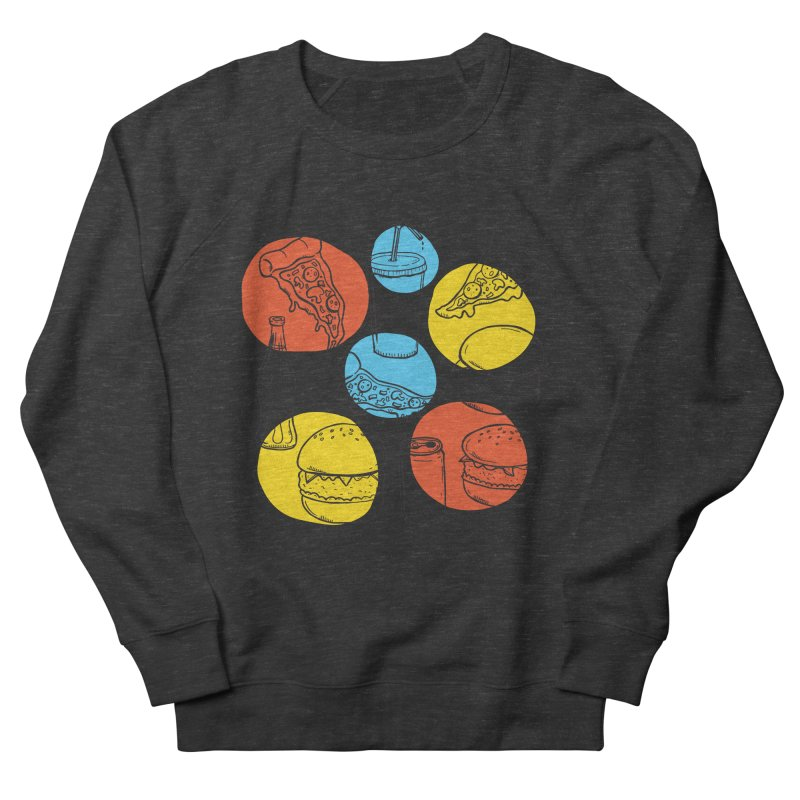 Fast Food Men's Sweatshirt by John D-C's Artist Shop