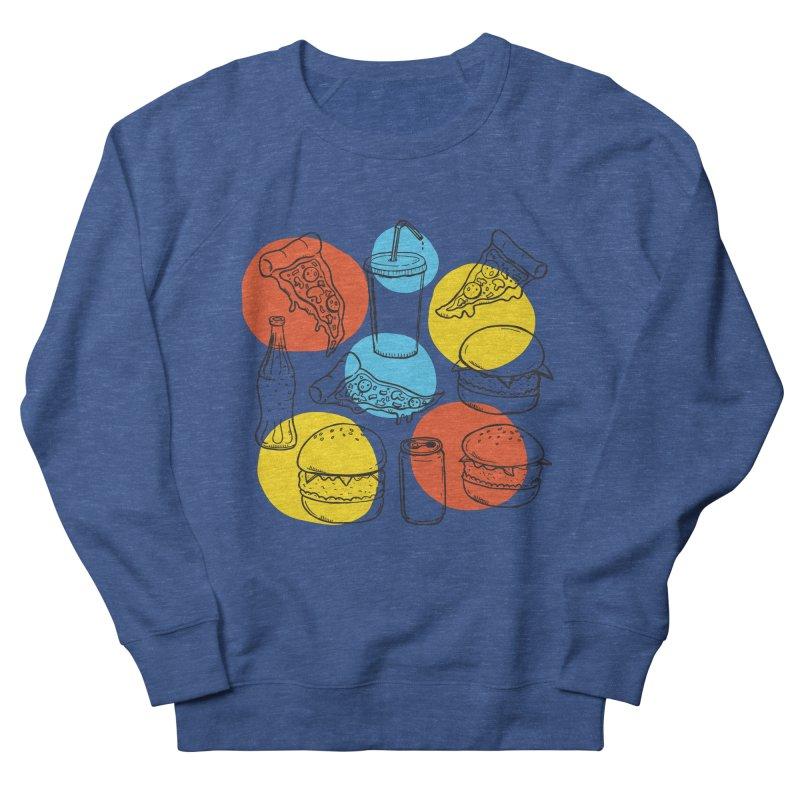 Fast Food Men's Sweatshirt by John D-C