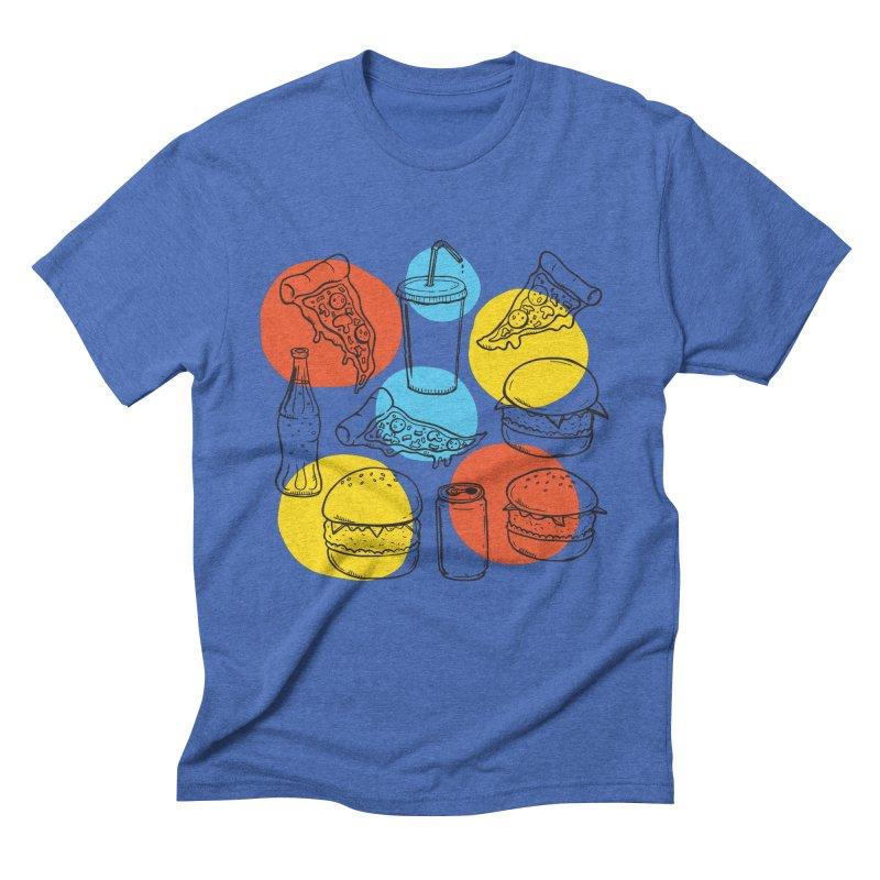 Fast Food Men's T-Shirt by John D-C