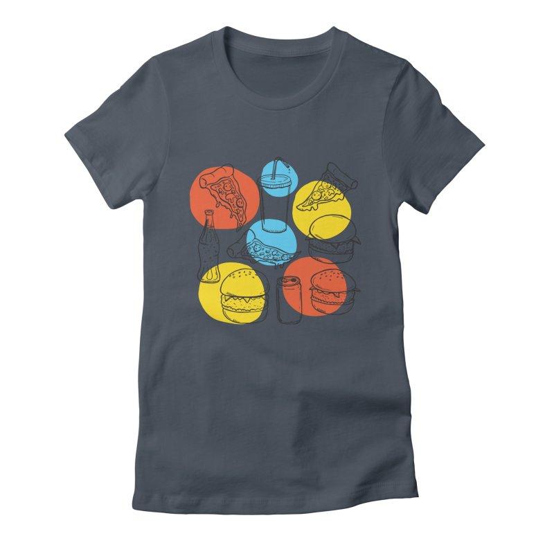 Fast Food Women's T-Shirt by John D-C