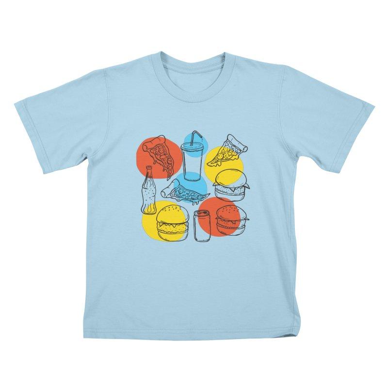 Fast Food Kids T-Shirt by John D-C