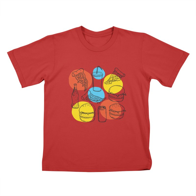 Fast Food Kids T-Shirt by John D-C