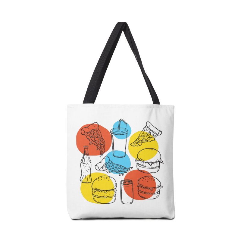 Fast Food Accessories Bag by John D-C's Artist Shop
