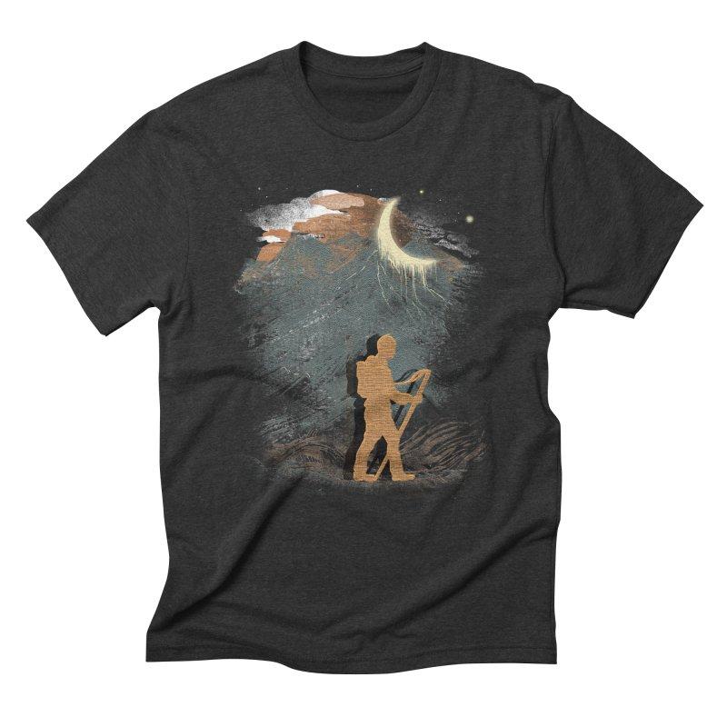 The Traveler Men's Triblend T-shirt by JP$ Artist Shop