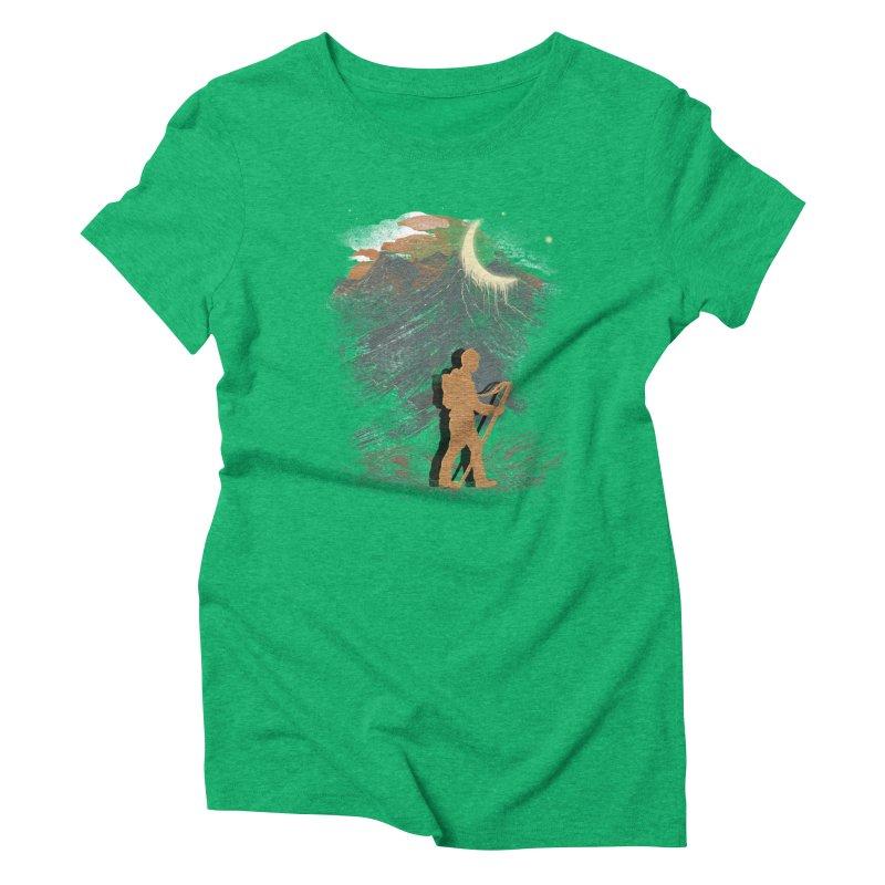 The Traveler Women's Triblend T-shirt by JP$ Artist Shop