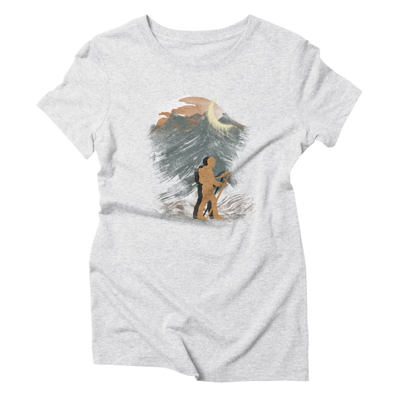 The Traveler Women's Triblend T-Shirt by JP$ Artist Shop