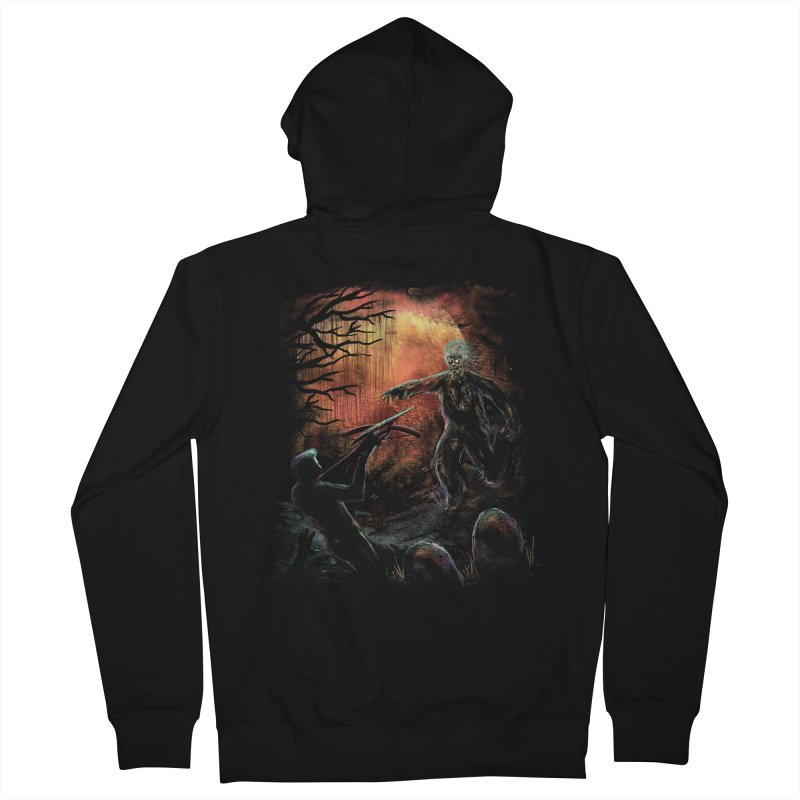 Good night to die.  Women's Zip-Up Hoody by JP$ Artist Shop