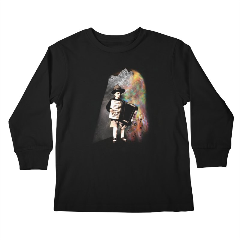 Musical Magic Kids Longsleeve T-Shirt by JP$ Artist Shop