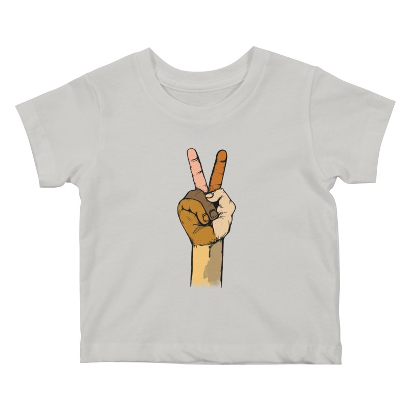 Color of peace Kids Baby T-Shirt by JP$ Artist Shop