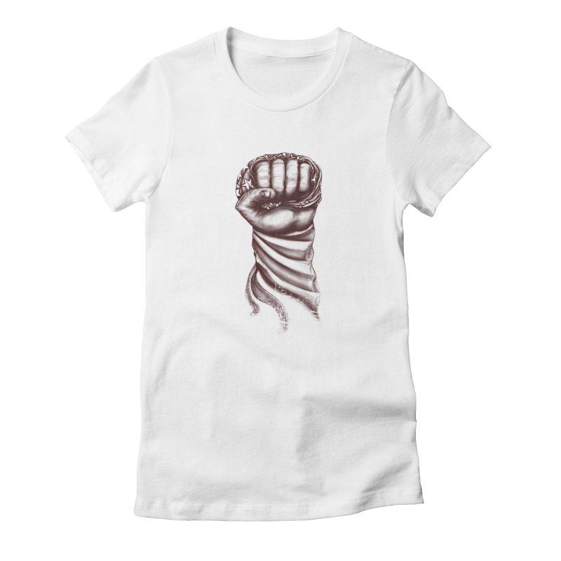USA  Women's Fitted T-Shirt by JP$ Artist Shop
