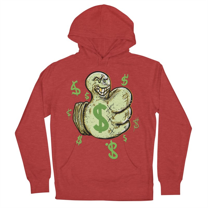 Thumb$ UP Women's Pullover Hoody by JP$ Artist Shop