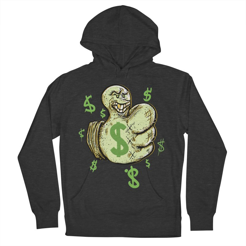 Thumb$ UP Men's Pullover Hoody by JP$ Artist Shop