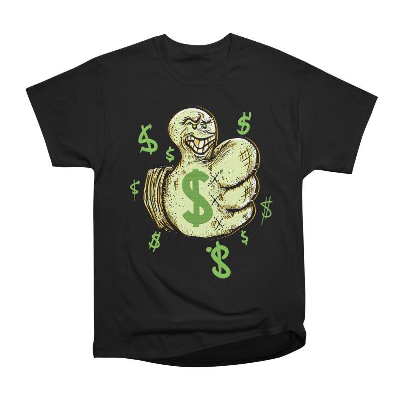 Thumb$ UP Women's Heavyweight Unisex T-Shirt by JP$ Artist Shop