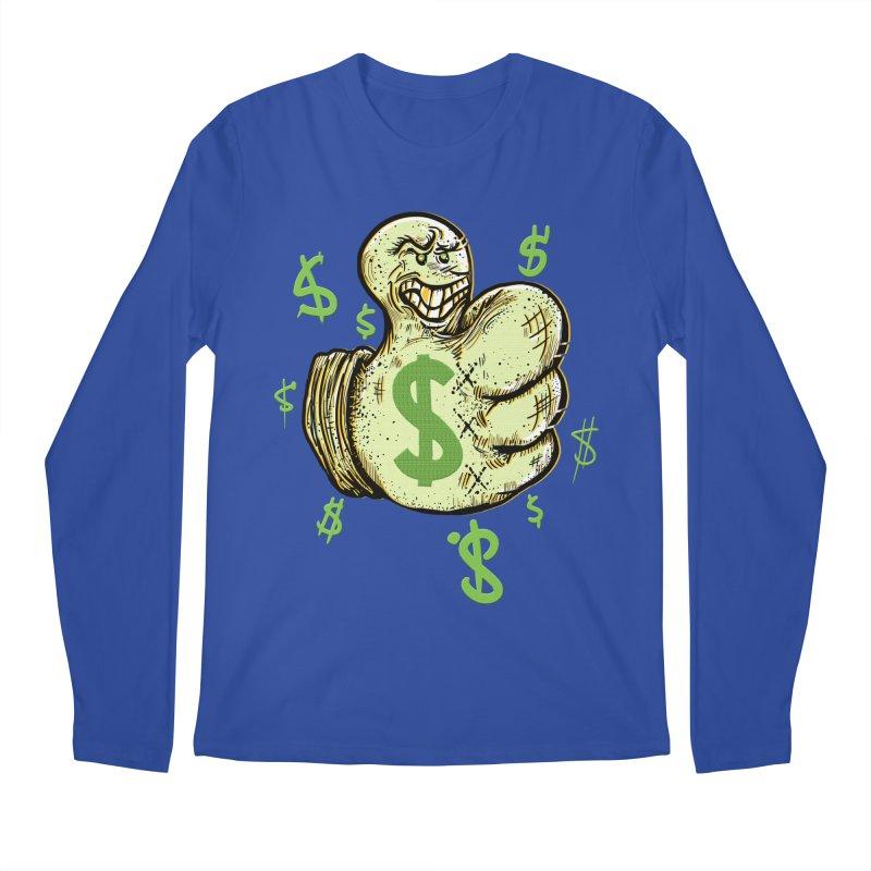Thumb$ UP Men's Longsleeve T-Shirt by JP$ Artist Shop