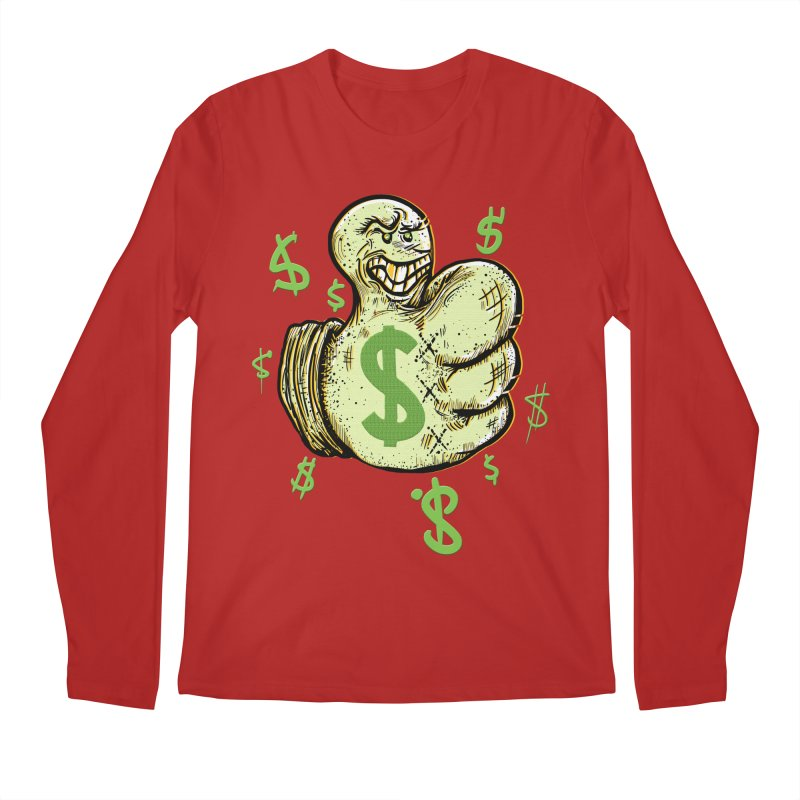 Thumb$ UP Men's Longsleeve T-Shirt by JP$ Artist Shop
