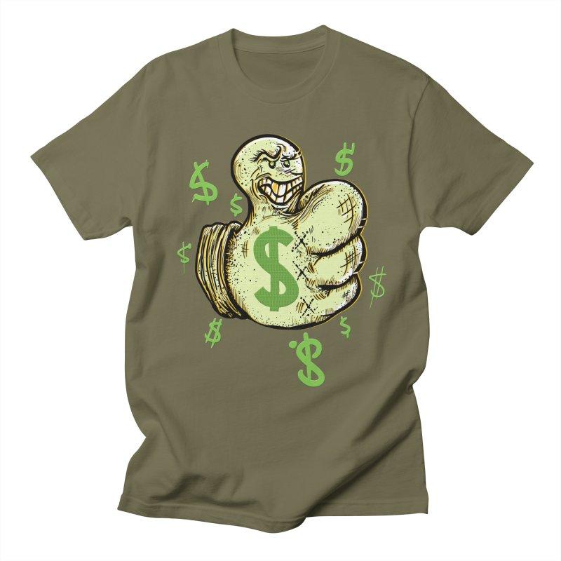 Thumb$ UP Men's T-shirt by JP$ Artist Shop