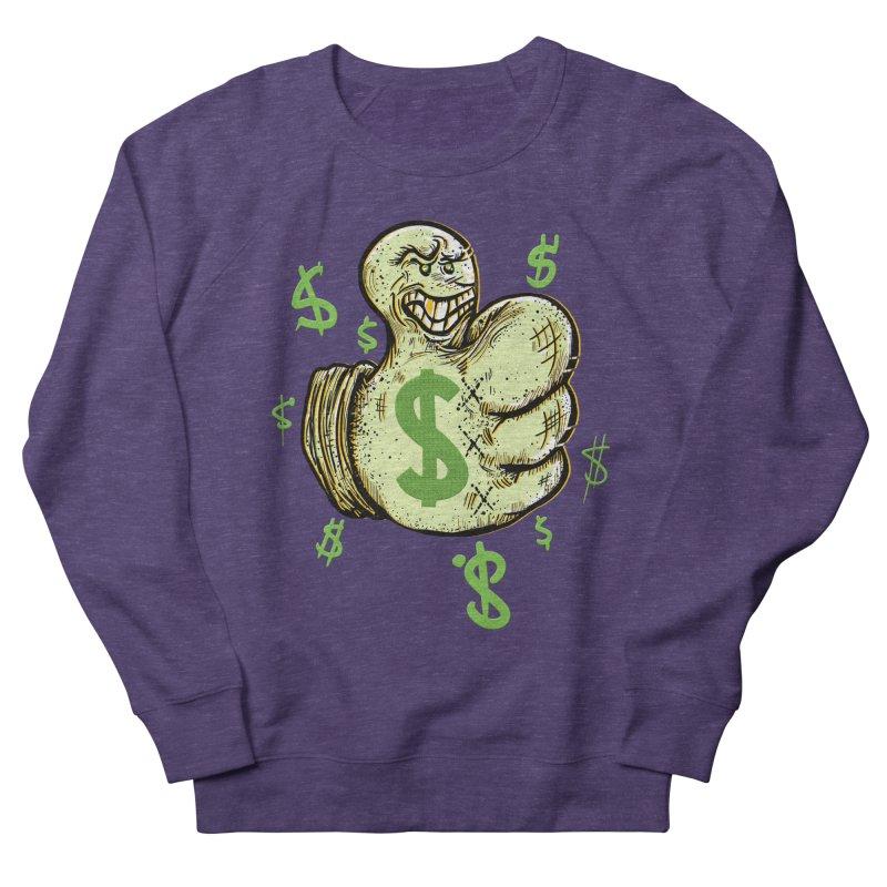 Thumb$ UP Women's Sweatshirt by JP$ Artist Shop