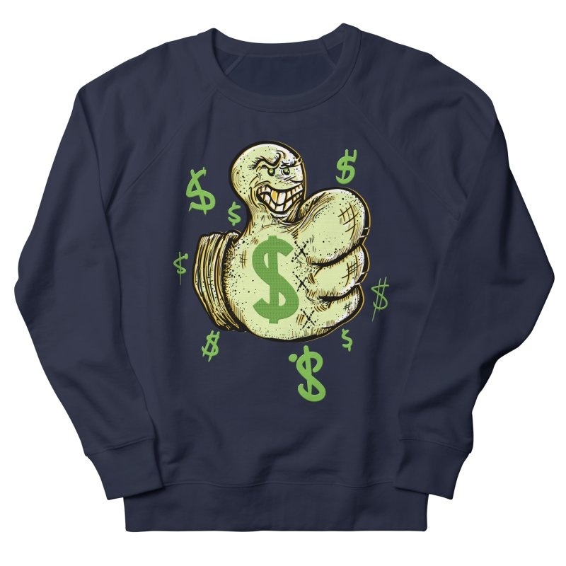 Thumb$ UP Men's Sweatshirt by JP$ Artist Shop