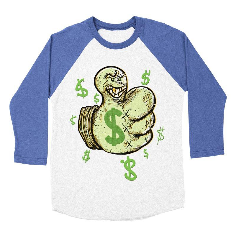 Thumb$ UP Women's Baseball Triblend T-Shirt by JP$ Artist Shop