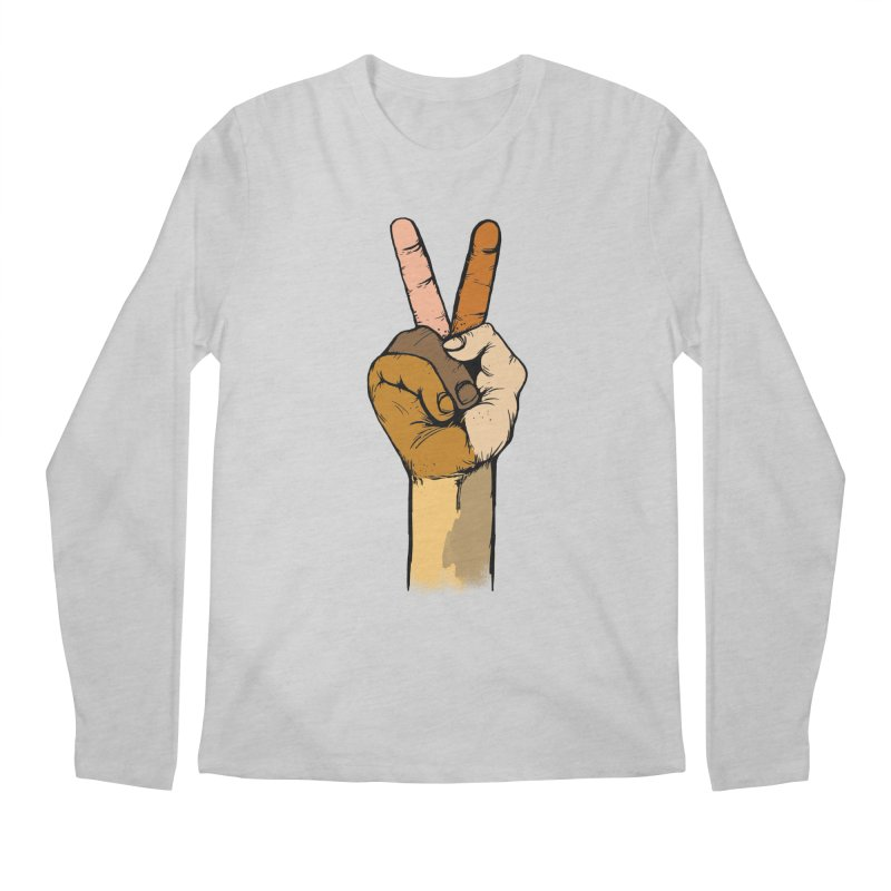 The Color of Peace. Men's Longsleeve T-Shirt by JP$ Artist Shop