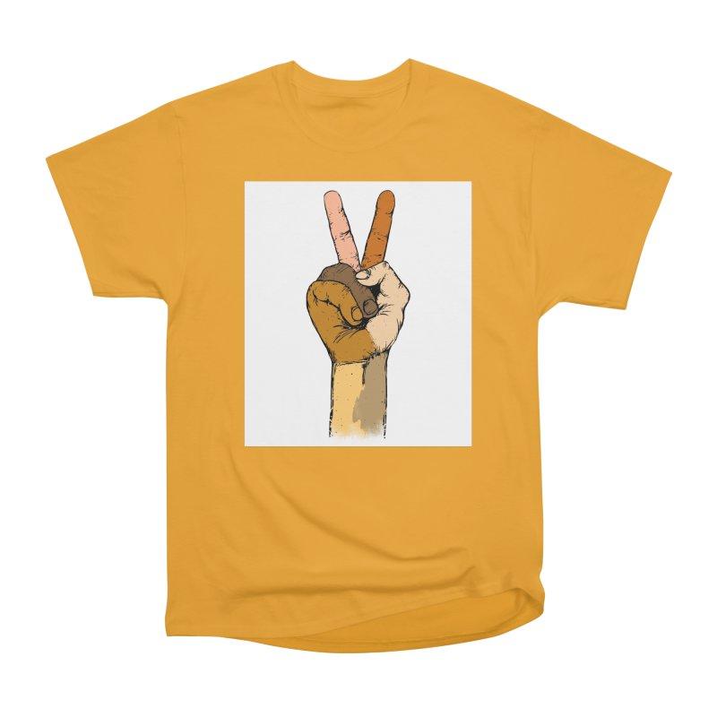 The Color of Peace. Women's Classic Unisex T-Shirt by JP$ Artist Shop