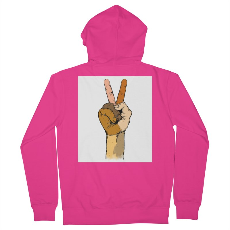 The Color of Peace. Men's Zip-Up Hoody by JP$ Artist Shop