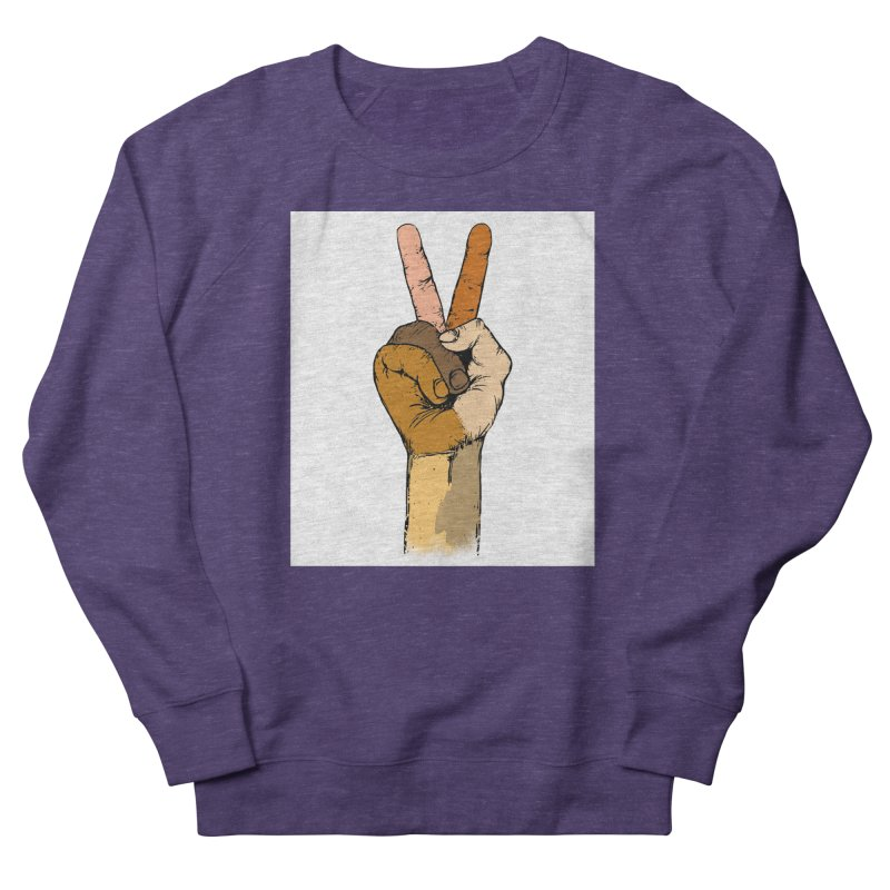 The Color of Peace. Women's Sweatshirt by JP$ Artist Shop