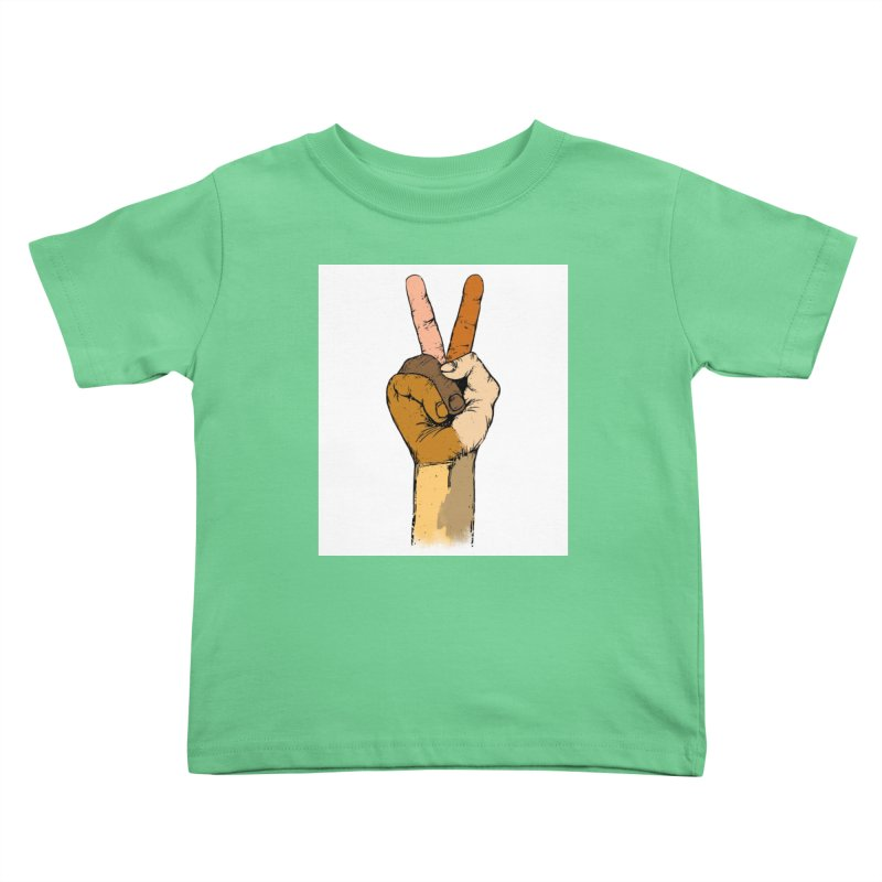 The Color of Peace. Kids Toddler T-Shirt by JP$ Artist Shop