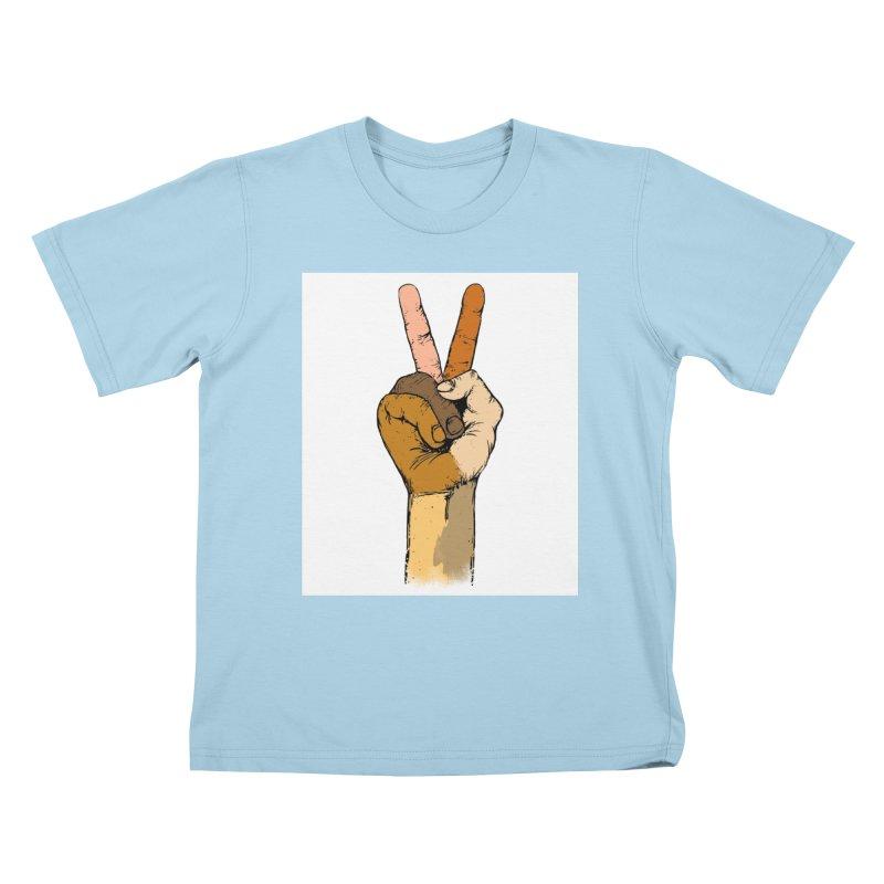 The Color of Peace. Kids T-shirt by JP$ Artist Shop