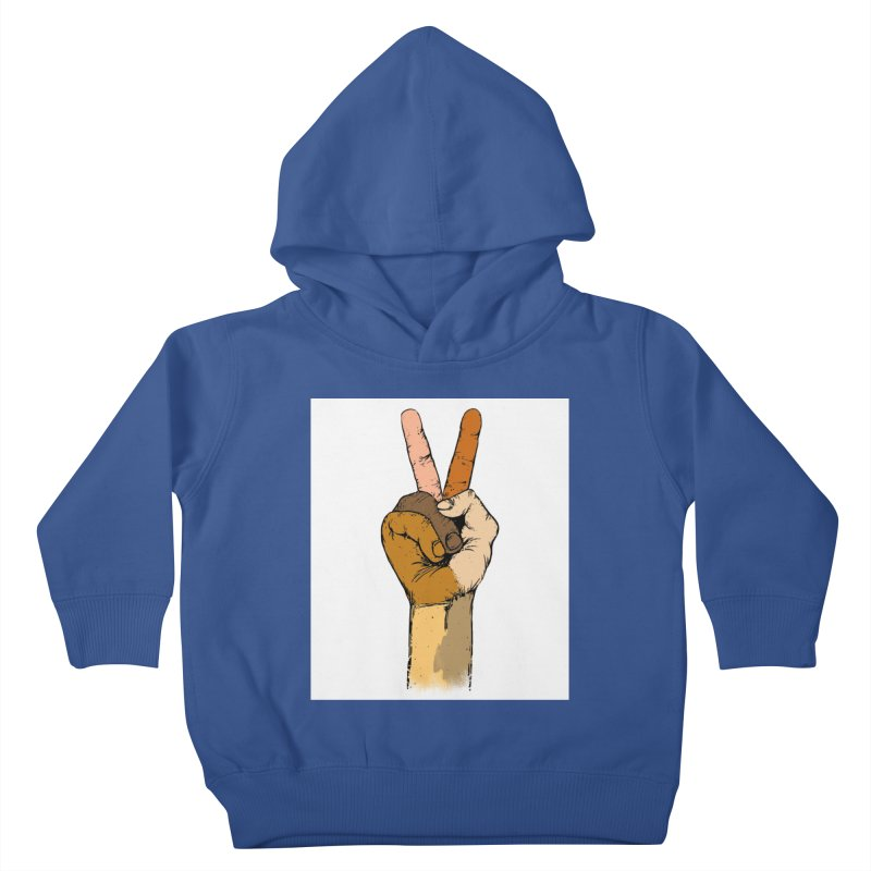 The Color of Peace. Kids Toddler Pullover Hoody by JP$ Artist Shop