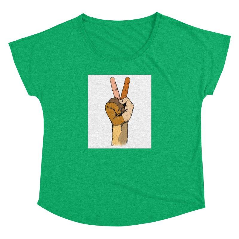 The Color of Peace. Women's Dolman by JP$ Artist Shop