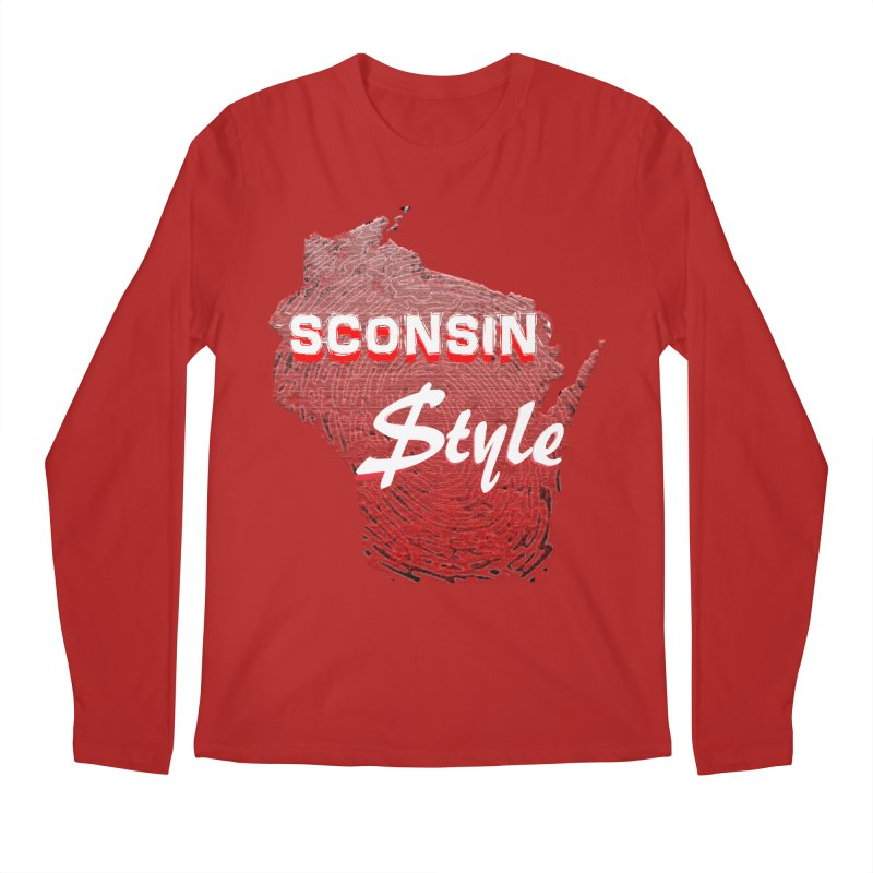 sconsin $tyle. Men's Longsleeve T-Shirt by JP$ Artist Shop