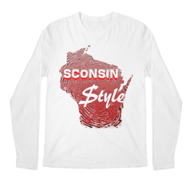 sconsin $tyle. Men's Longsleeve T-Shirt by JP$ Artist Shop