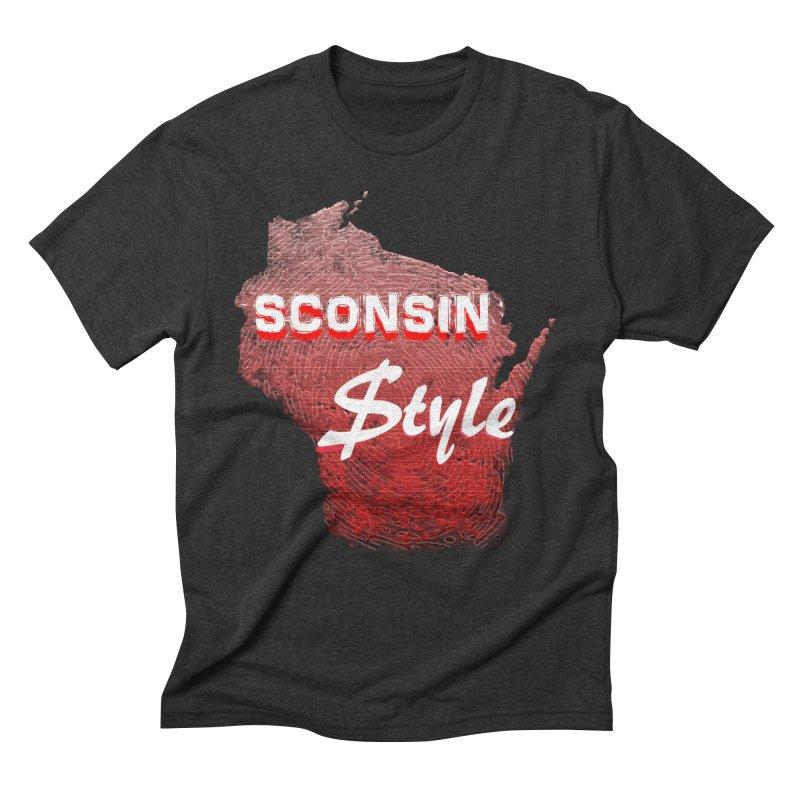 sconsin $tyle. Men's Triblend T-Shirt by JP$ Artist Shop