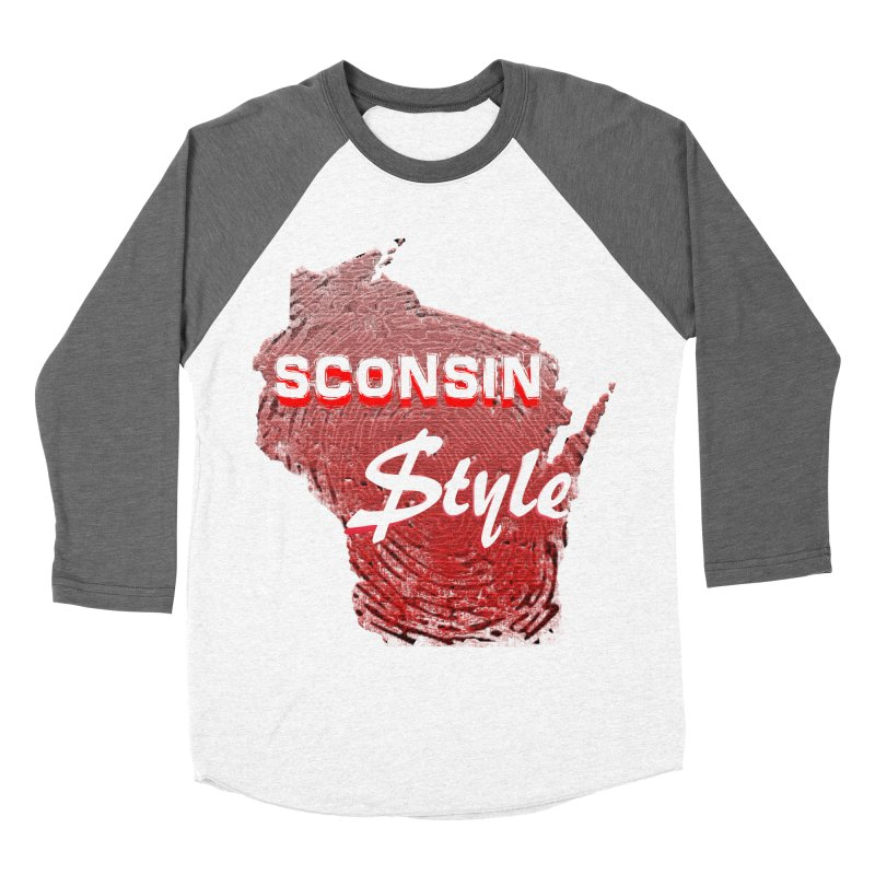 sconsin $tyle. Men's Baseball Triblend T-Shirt by JP$ Artist Shop