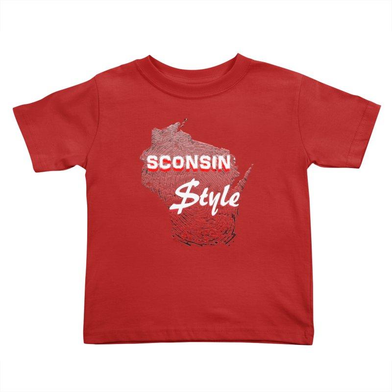 sconsin $tyle. Kids Toddler T-Shirt by JP$ Artist Shop