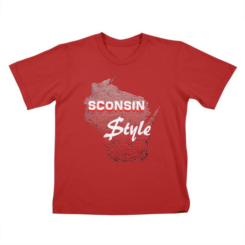 sconsin $tyle. Kids T-shirt by JP$ Artist Shop