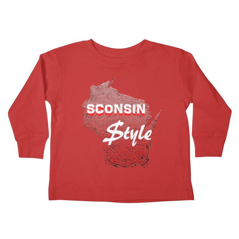 sconsin $tyle. Kids Toddler Longsleeve T-Shirt by JP$ Artist Shop