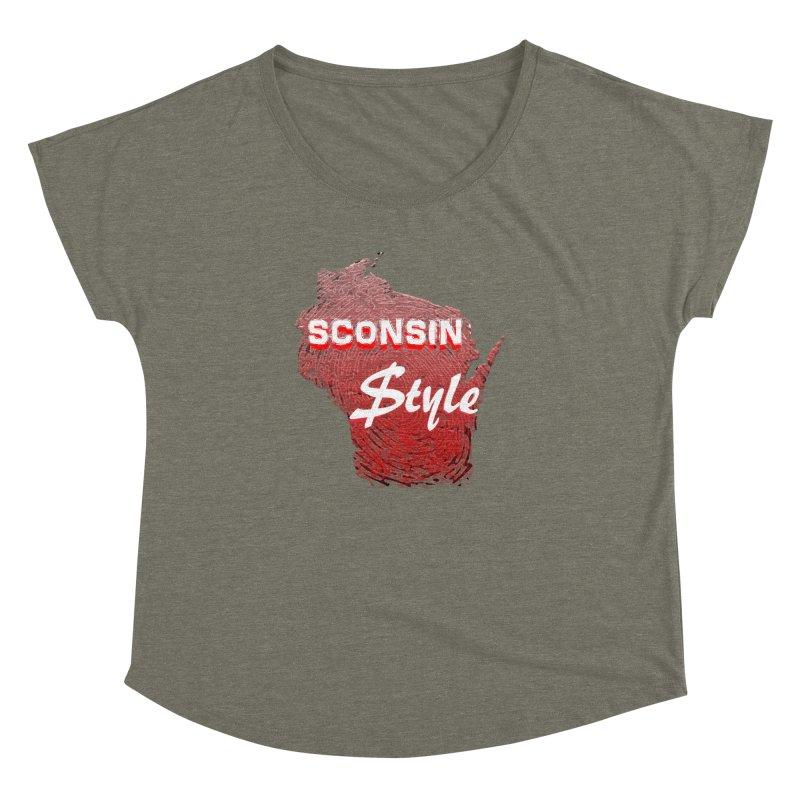 sconsin $tyle. Women's Dolman by JP$ Artist Shop