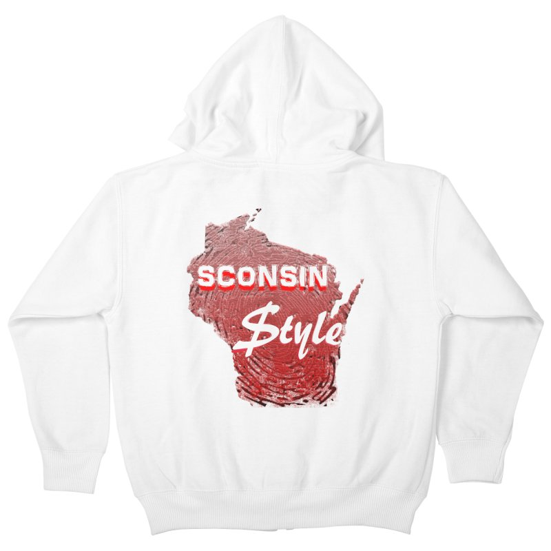 sconsin $tyle. Kids Zip-Up Hoody by JP$ Artist Shop